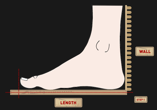 How To Measure Your Shoe Size::Lastrite Footwear